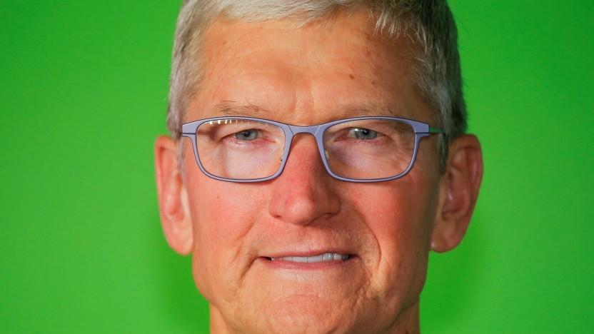 Apple-Chef Tim Cook wird von der EU unter Druck gesetzt.