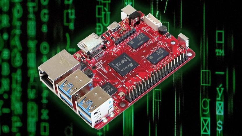 Der Odroid C4 ähnelt dem Raspberry Pi 4.