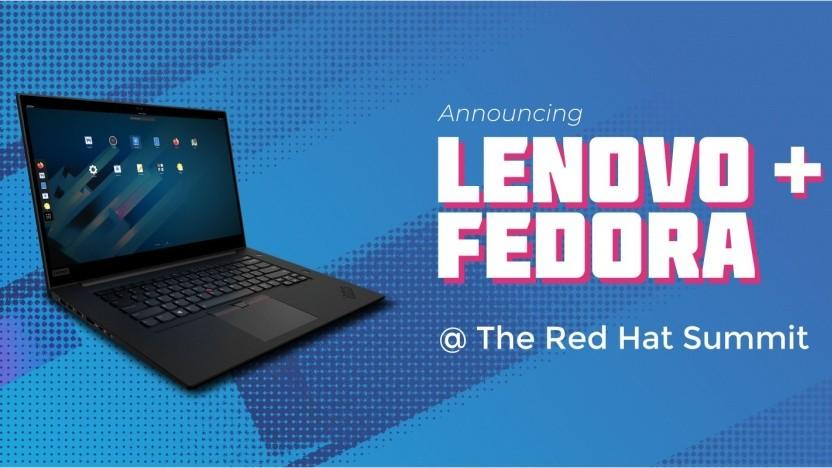 Einige Thinkpads gibt es künftig auch vorinstalliert mit Fedora.