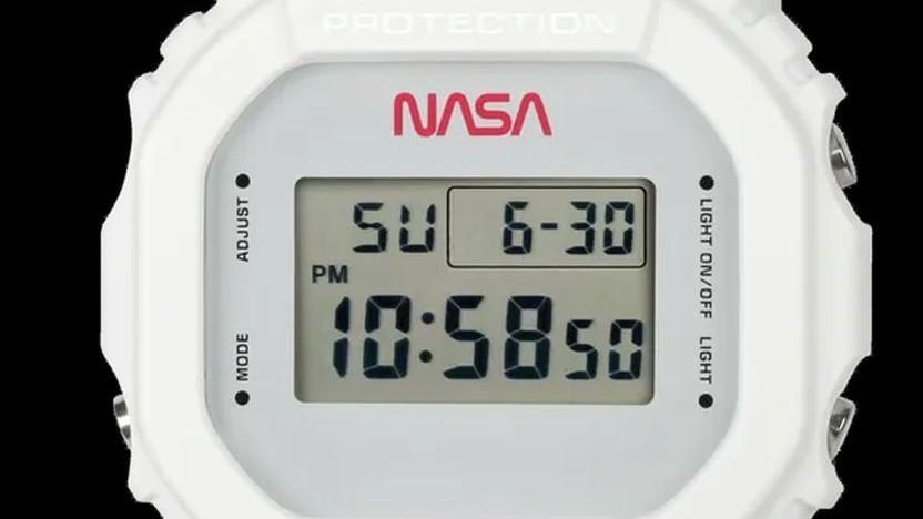 Casios G-Shock DW-5600 im Nasa-Design