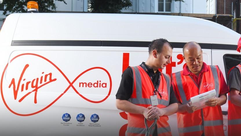 Beschäftigte bei Virgin Media