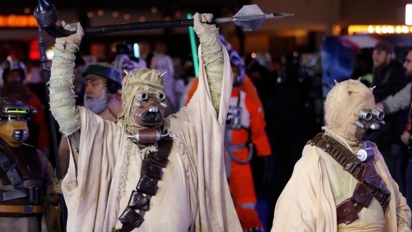 Das gibt Ärger: Star-Wars-Fans finden Disneys Marketingaktion nicht so gut.