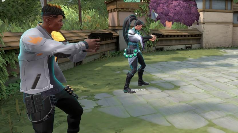 In Valorant treten zwei Fünf-Spieler-Teams gegeneinander an.