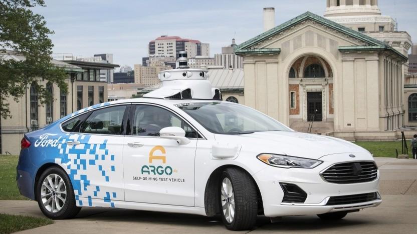 Roboauto von Ford: Investition in Software-Unternehmen Argo AI