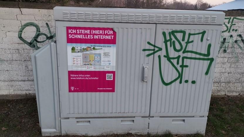 Vectoringausbau im Umland südlich von Berlin