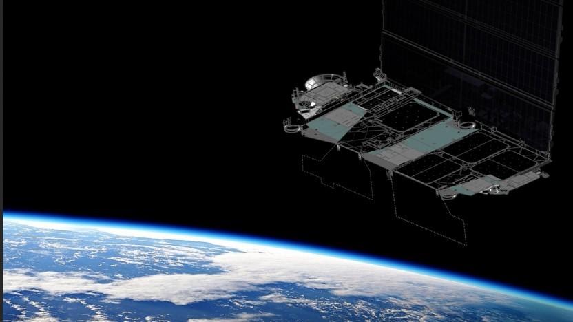 Die hellen Radioantennen der Starlink-Satelliten sollen in Zukunft dauerhaft im Schatten bleiben.