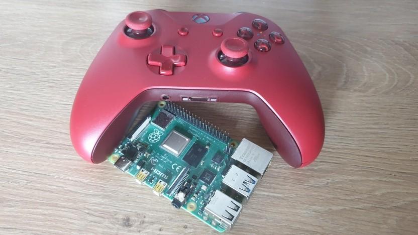 Mit Retropie wird der Raspberry Pi 4 zu einer Spielekonsole.
