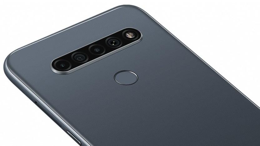 Die Kameras des LG K61