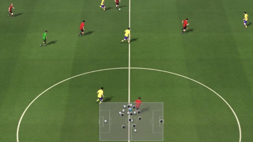 Die grafische Grundlage für die Fußballmatches stellt Gameplay Football.