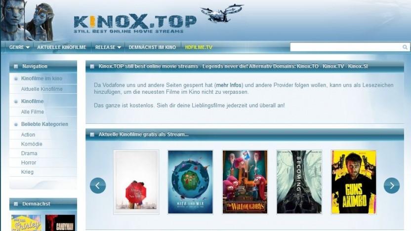 Weiterer Klon von Kinox.to