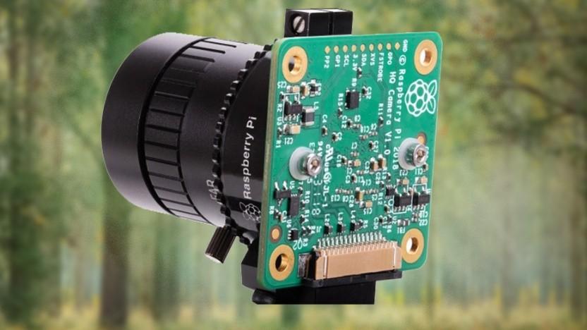 Die High Quality Camera ist ein Aufsatz für den Raspberry Pi.