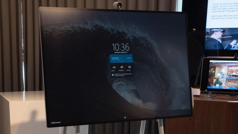 Das Surface Hub 2S ist wahrscheinlich ein erstes Gerät mit Windows 10X.