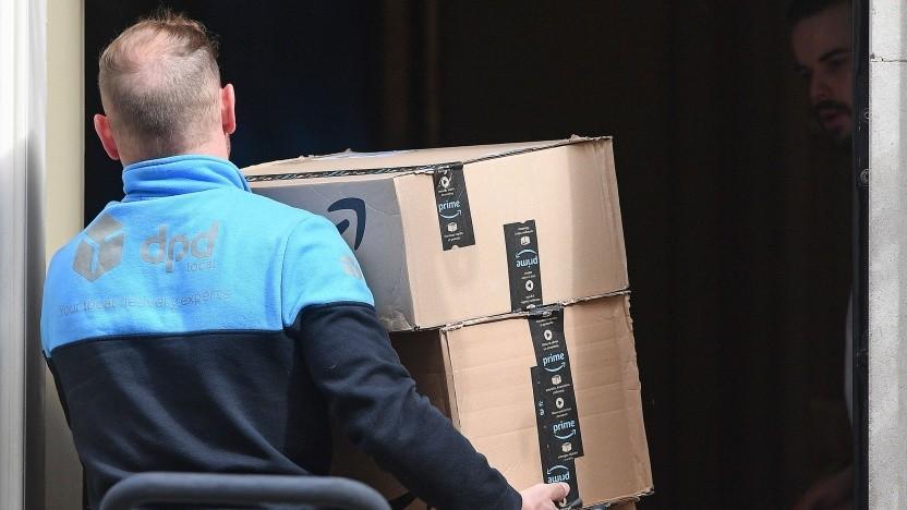 Paketzustellung von Amazon