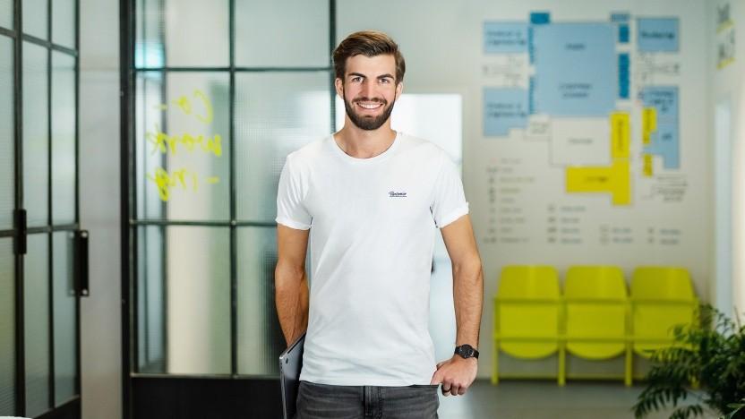 Hanno Renner hat Personio mit drei Studienkollegen gegründet.