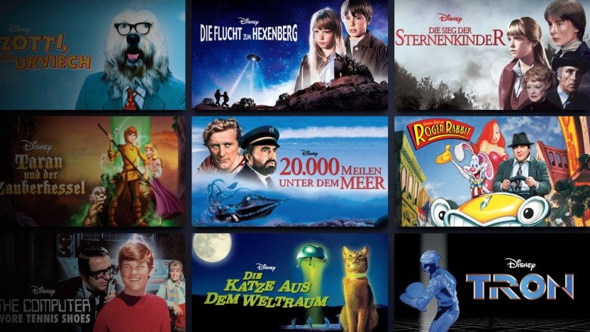 Filmklassiker bei Disney+