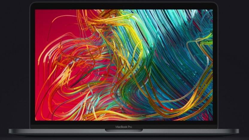 Apple verkauft das Macbook Pro 13 mit überarbeiteter Tastatur.