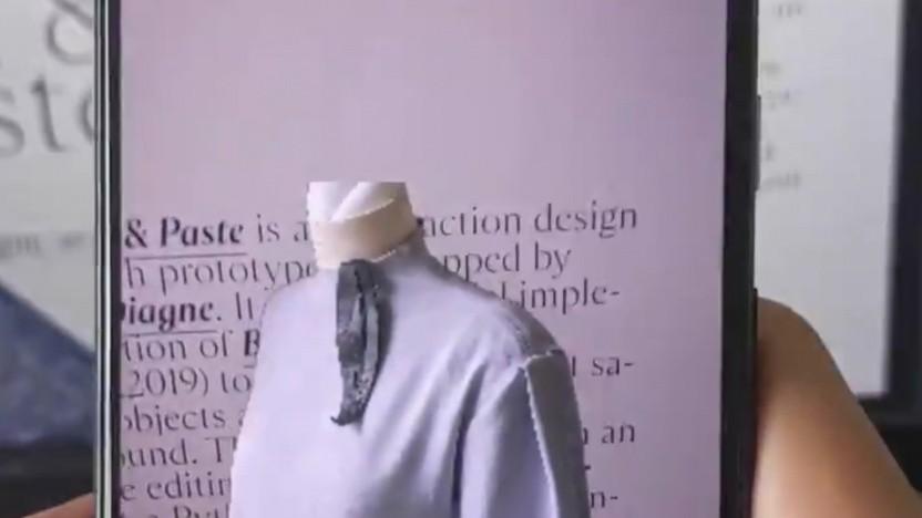 AR Cut & Paste-Demo