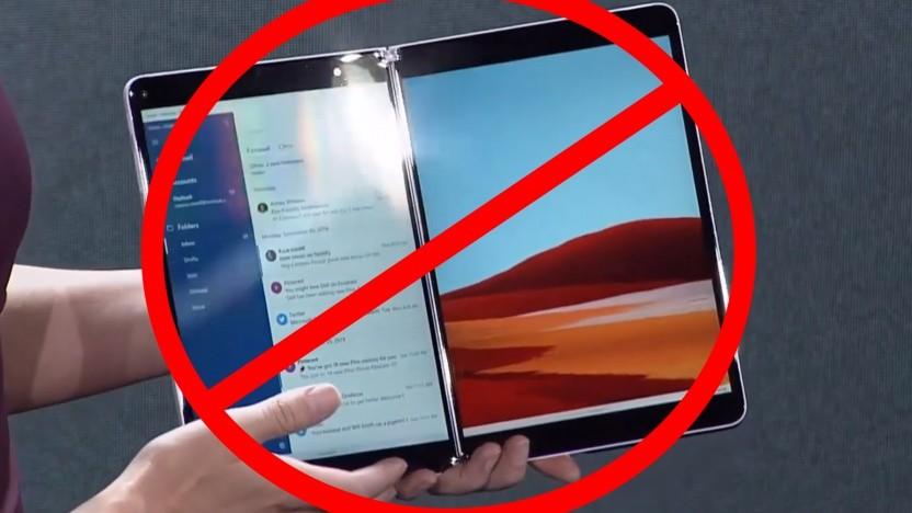 Das Surface Neo ist 2020 wohl nicht mehr anzutreffen.