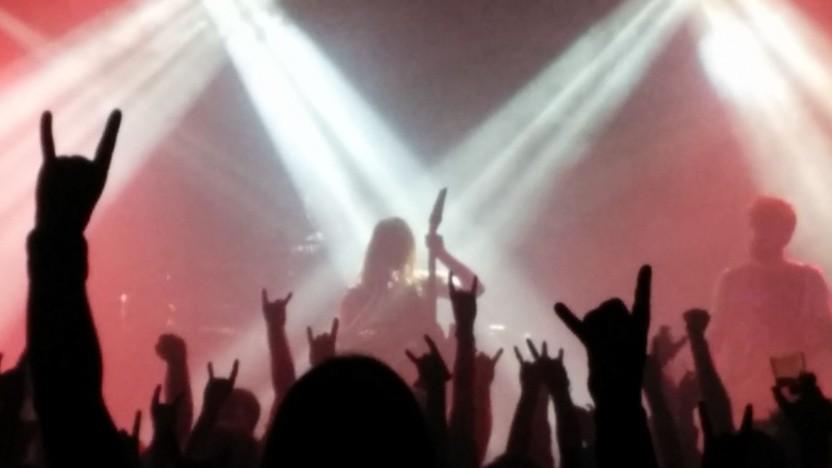 Musiker bei einem Konzert (Symbolbild)