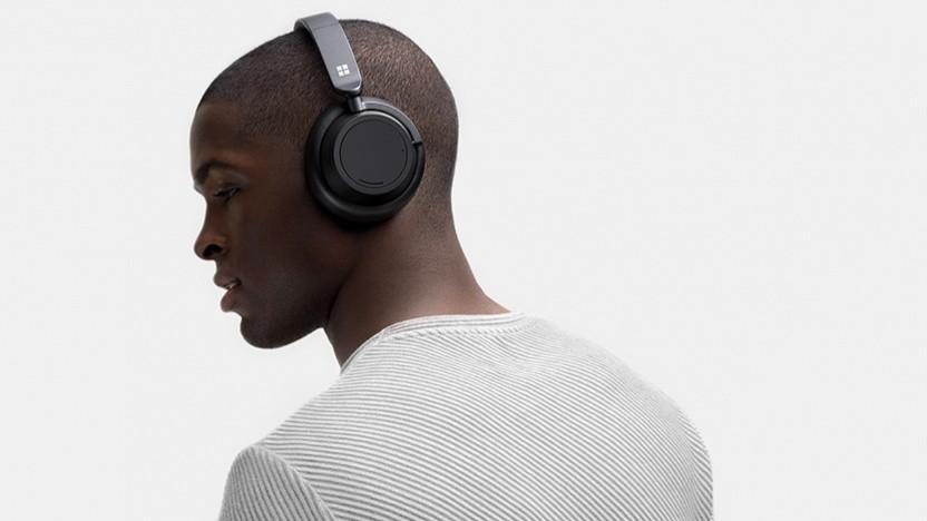 Die Surface Headphones 2 sind wieder On-Ear-Kopfhörer.