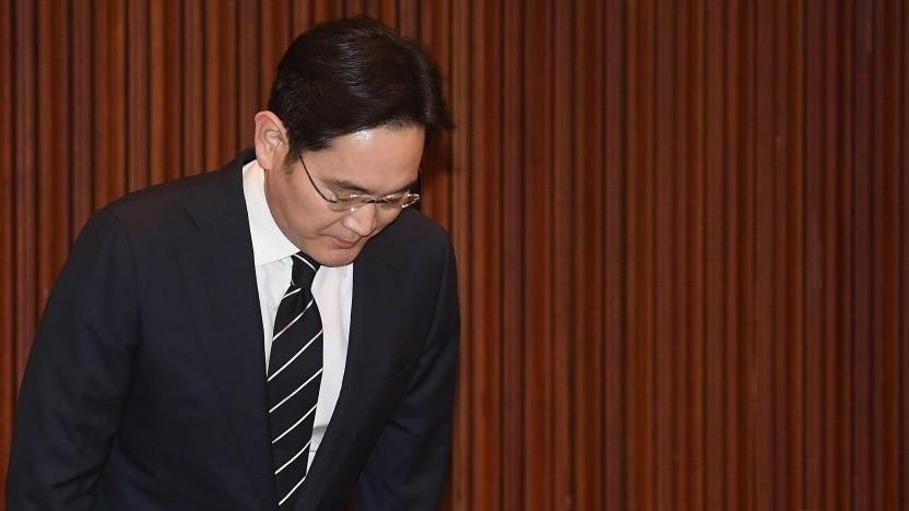 Lee Jae-yong hat sich öffentlich entschuldigt.