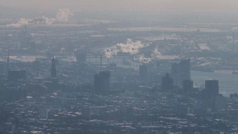 Schlechte Luft in Hamburg: Ein Startup will die Entwicklung der Luftqualität in jeder Straße und jedem Block im Stadtquartier verfolgen.