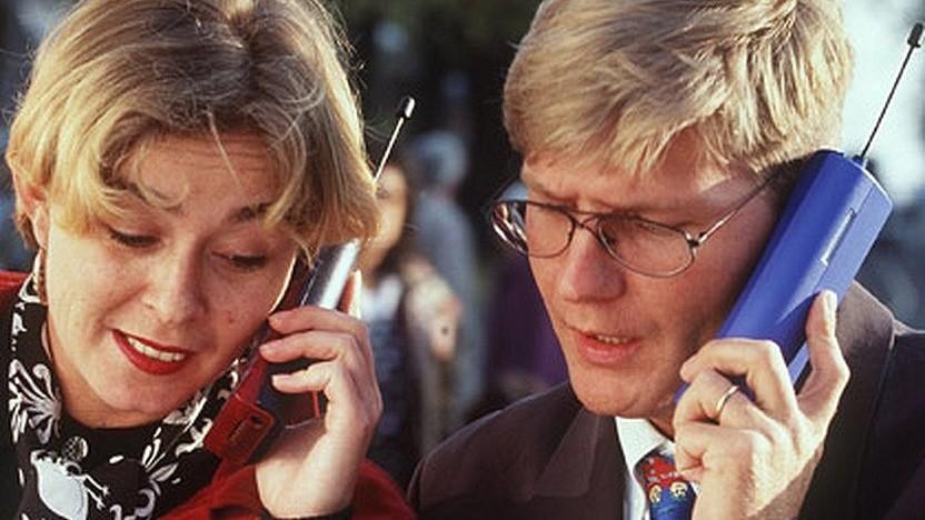 Mobilfunk bei Vodafone im Jahr 1995: Erste Tests für UMTS starteten 1999.