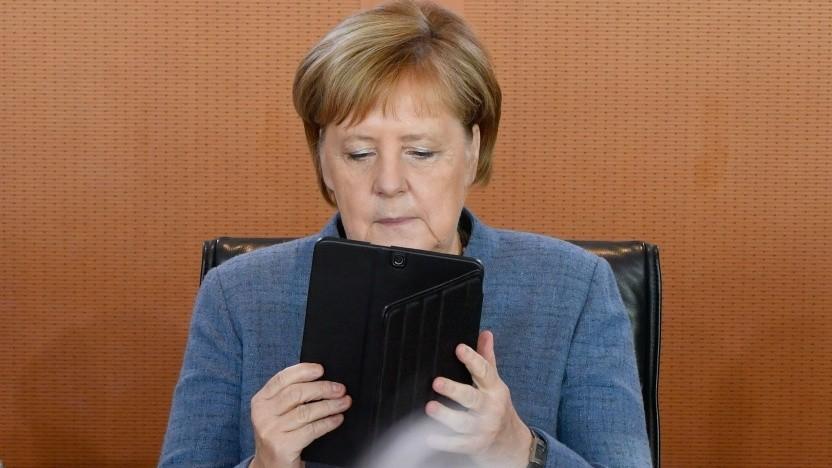 Angela Merkel: Korrespondenz aus den Jahren 2012 bis 2015 kopiert