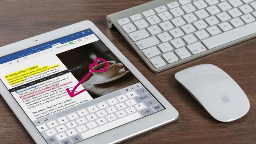 iPads sollen sich ähnlich komfortabel wie ein Notebook bedienen lassen.