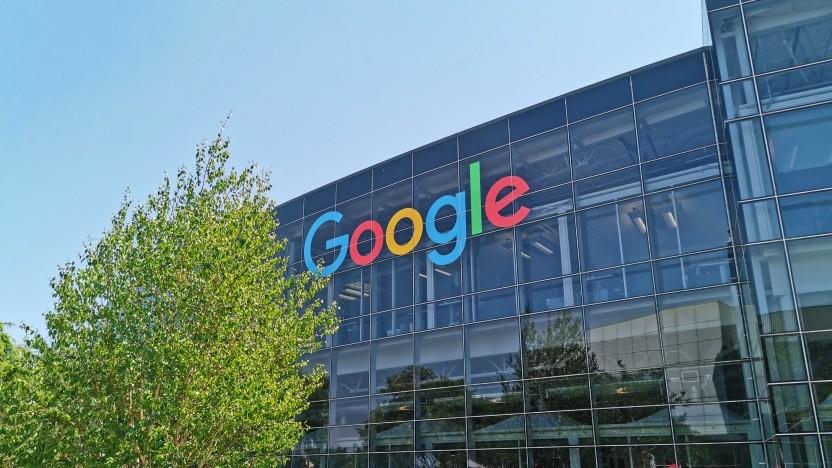 Auch Googles Büros in Mountain View stehen momentan zum großen Teil leer.