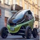 Elektroauto mit variabler Breite: Triggo macht sich im dichten Verkehr dünn