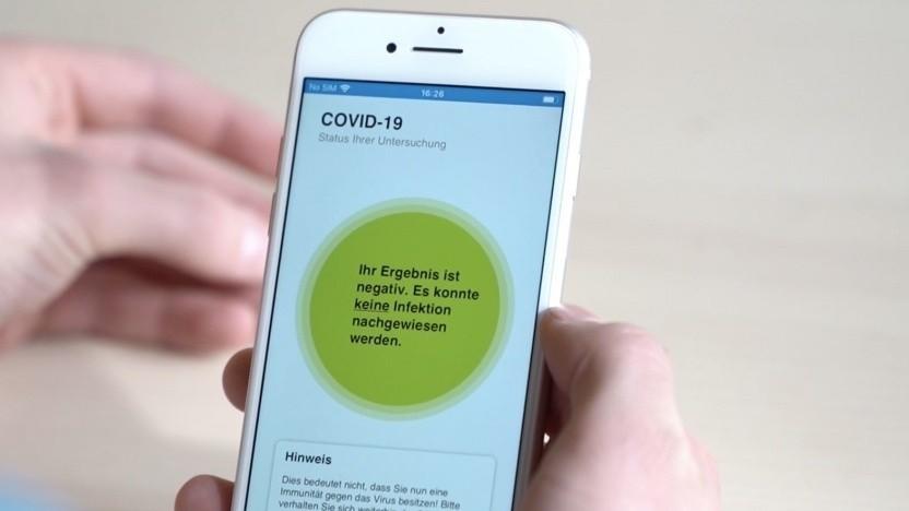 Die Corona-Warn-App soll auch über die Testergebnisse informieren.