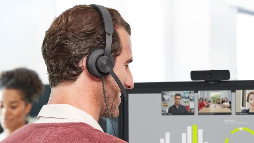Das Zone Wired eignet sich eher für leisere Büros.