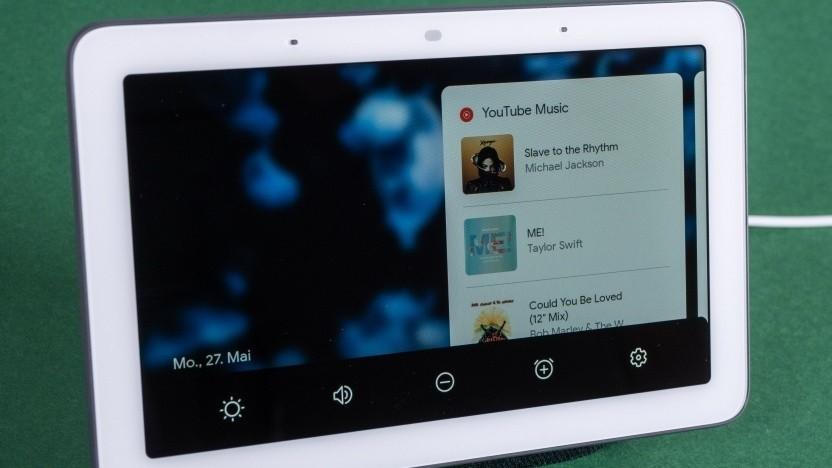 Googles Nest Hub ist ein smartes Display mit Google Assistant.