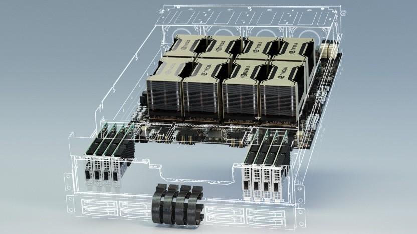 Der Juwels wird mit Nvidias HGX-A100 bestückt.