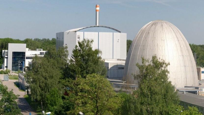 Der Forschungsreaktor FRM II in Garching bei München