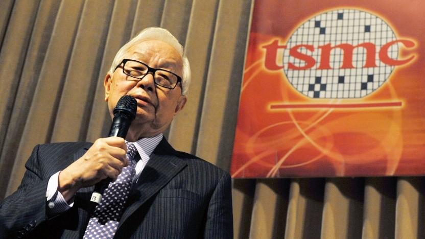 Morris Chang, der Chairman von Taiwan Semiconductor Manufacturing Co. (TSMC)