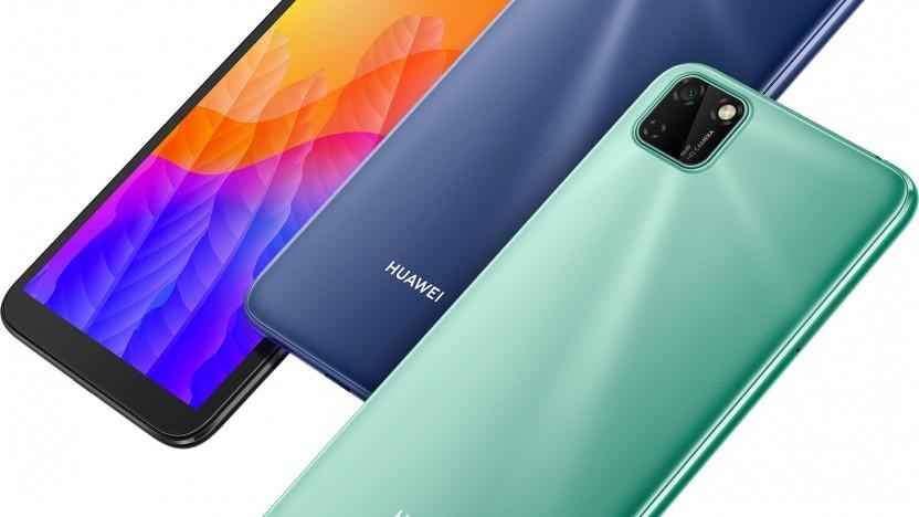 Der erste Blick täuscht: Das Huawei Y5p hat nur eine einfache Kamera auf der Rückseite.