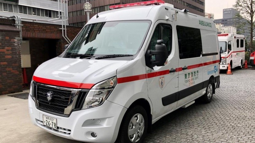 Nissan EV Ambulance