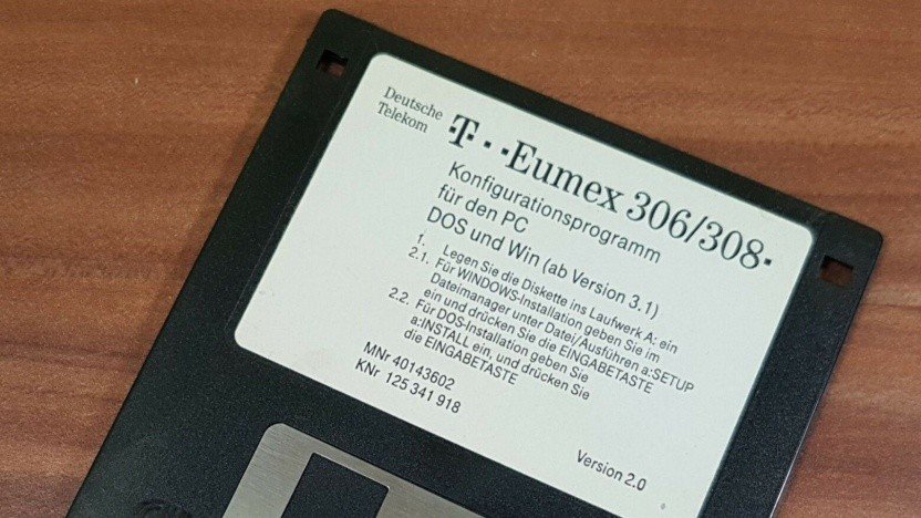 Diskette für Telekom Eumex 306