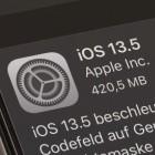 Mobile Betriebssysteme: Apple veröffentlicht iOS 13.5 und iPadOS 13.5