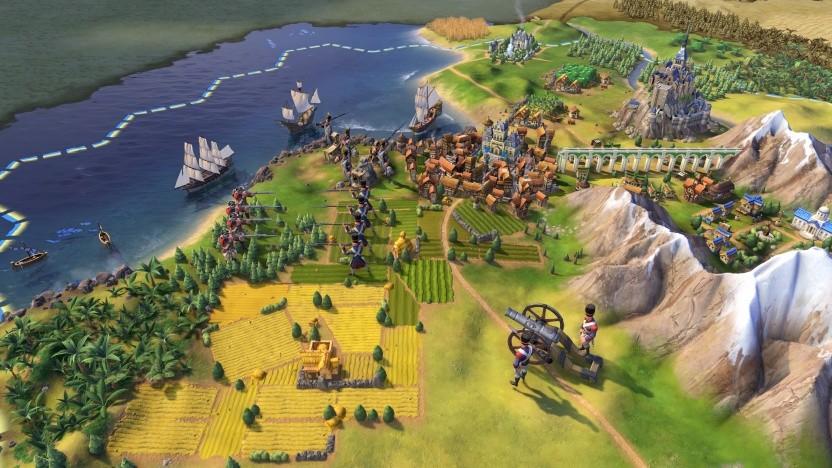 Artwork von Civilization 6