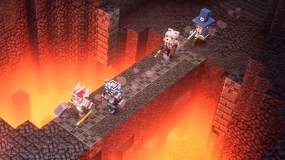 Minecraft Dungeons im Test: Diablo im Quadrat - Golem.de
