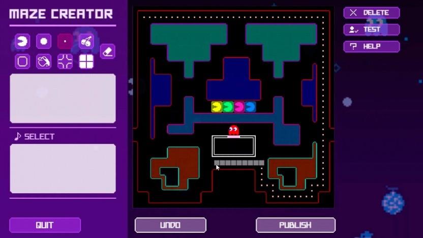Bald können kreative Köpfe Pac-Man-Levels bauen.
