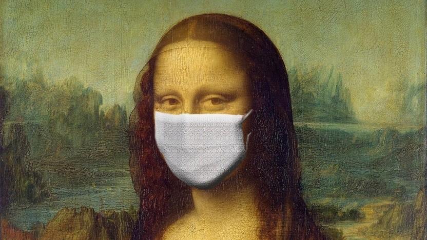 Maskierte Gesichter sind für Kameras nicht immer einfach zu erkennen.