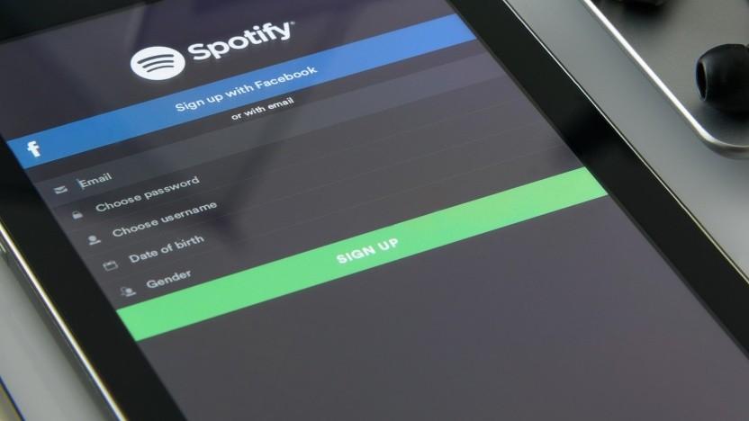 Spotify verzichtet nicht an allen Stellen auf das Limit von 10.000 Songs.