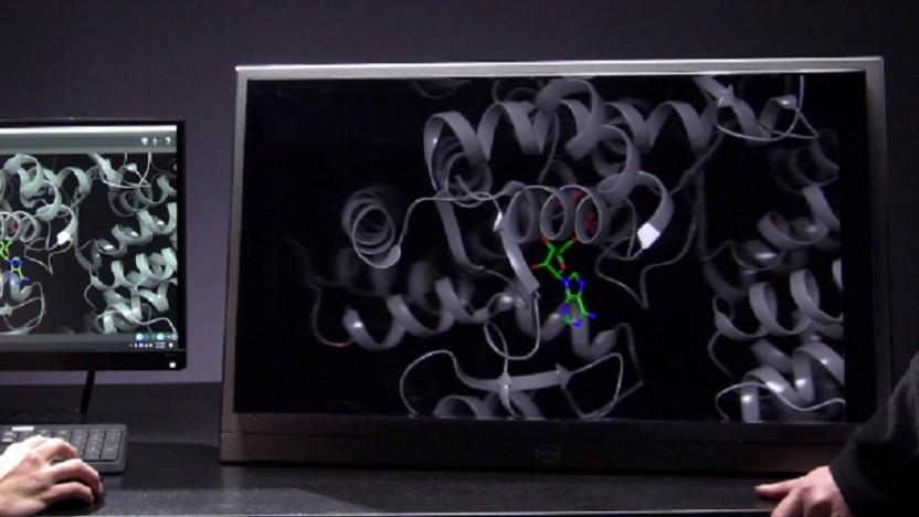Das Looking Glass 8K kann an PCs angeschlossen werden.
