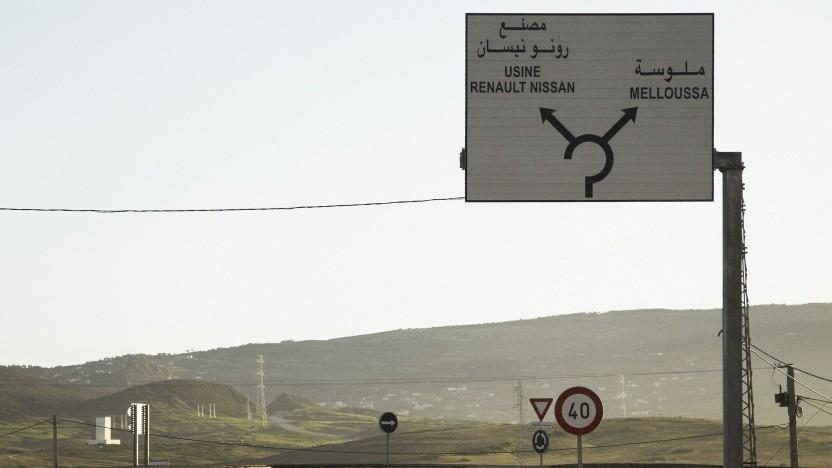Hinweis zum Werk in Tanger (Marokko): gemeinsamer Kurs für die Allianz