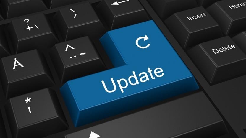 Das Update kann bisher nur manuell angestoßen werden.