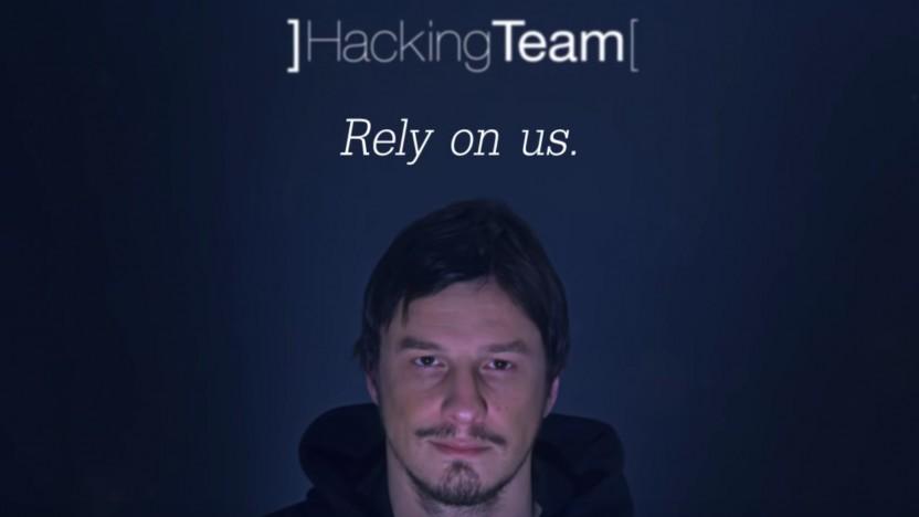 Screenshot aus einem Werbeclip der Überwachungsfirma Hacking Team.